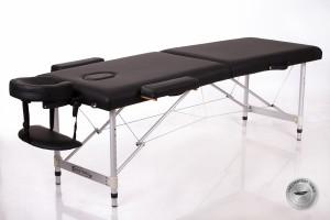 RESTPRO® ALU 2 (S) Black складной массажный стол (кушетка)