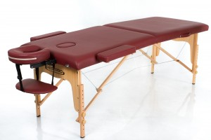 RESTPRO® Classic-2 Wine Red Portable Massage Table