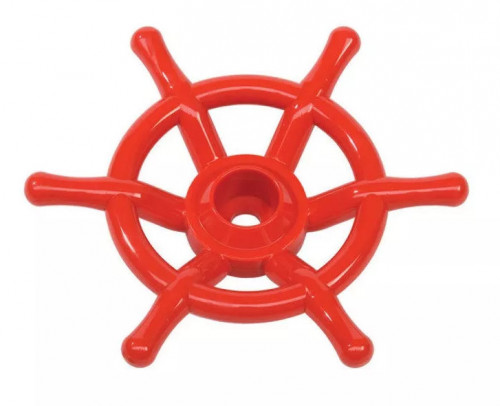 Steering wheel 'Boat' КВТ, Ø350 mm, red