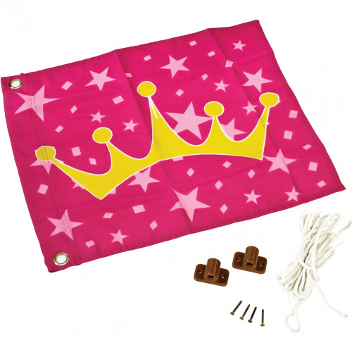 Kids flag Princess (hoisting system) КВТ, 55x45 cm