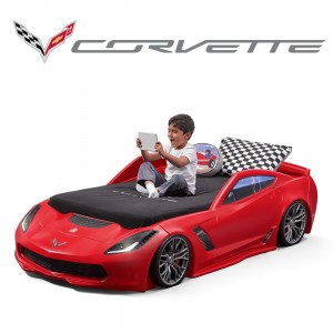 Step2 CORVETTE® Z06 TODDLER TO TWIN BED™  (860000)