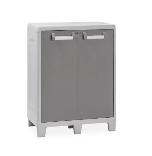 Short garden cabinet, two shelves, 78х49х100 cm, Toomax (Italy)