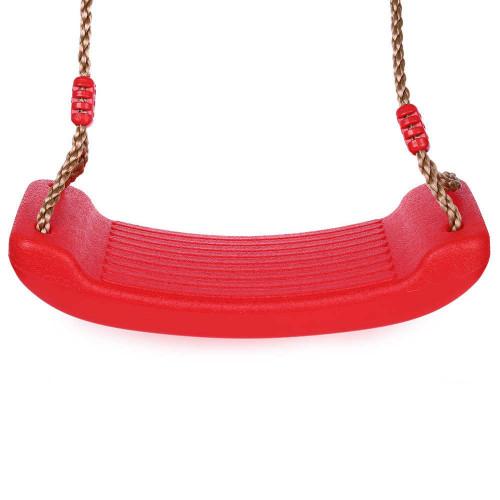 Plastmasas sēdeklis šūpolēm, KBT, sarkans