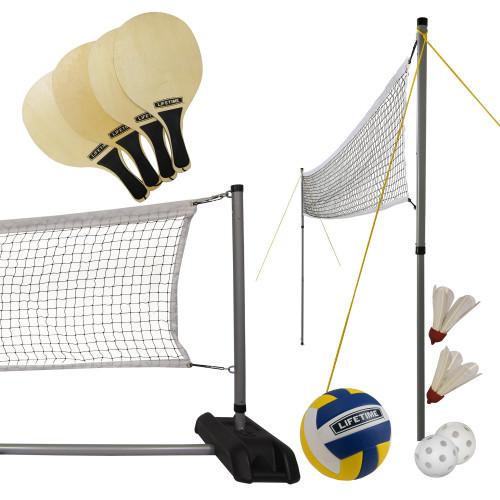 Lifetime Volejbola, badmintona, pikbola komplekts, 90541