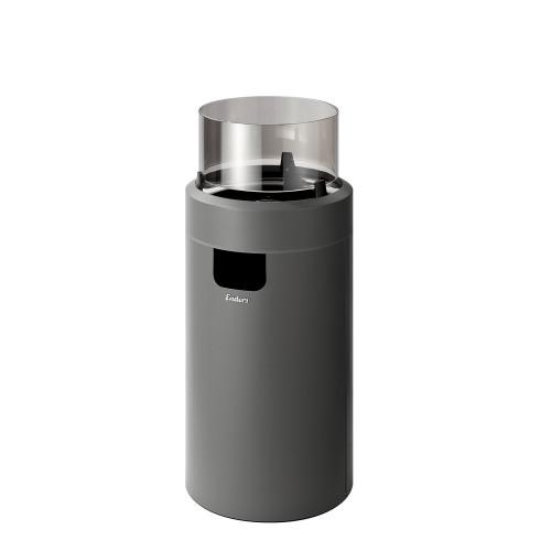 Gāzes āra kamīns Enders NOVA LED M GREY/BLACK