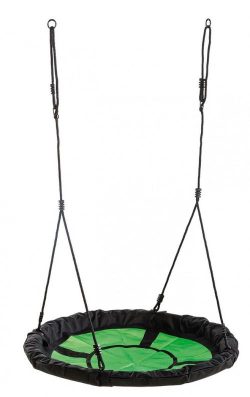 Šūpoles-stārķa ligzda Swibee Ø 98 cm, KBT, melnzaļas