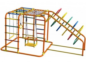 Children's sports complex LUCKY (swing) (00242)
