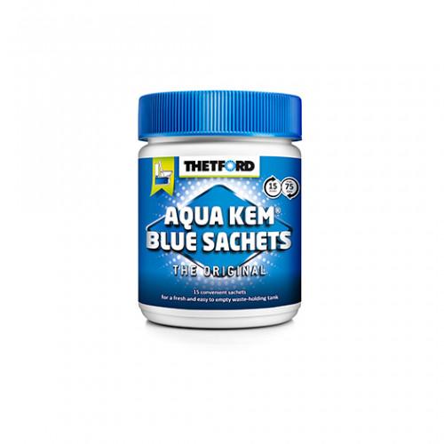 Thetford Aqua Kem® Blue Sachets (Can) apakšēja rezervuāra 15 tabletes