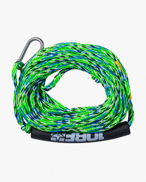 Rope for Towable Jobe Towrope 2P, Lime,1-2 persons, 15.2 m