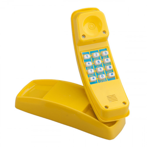 Kids' telephone with a horn (with fixings) КВТ, 22x6х8cm