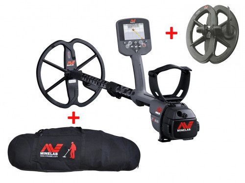 "Metal Detector Minelab CTX3030 Pro Pack + 6"" DD search coil + Pro Deluxe Large Carrying Bag"