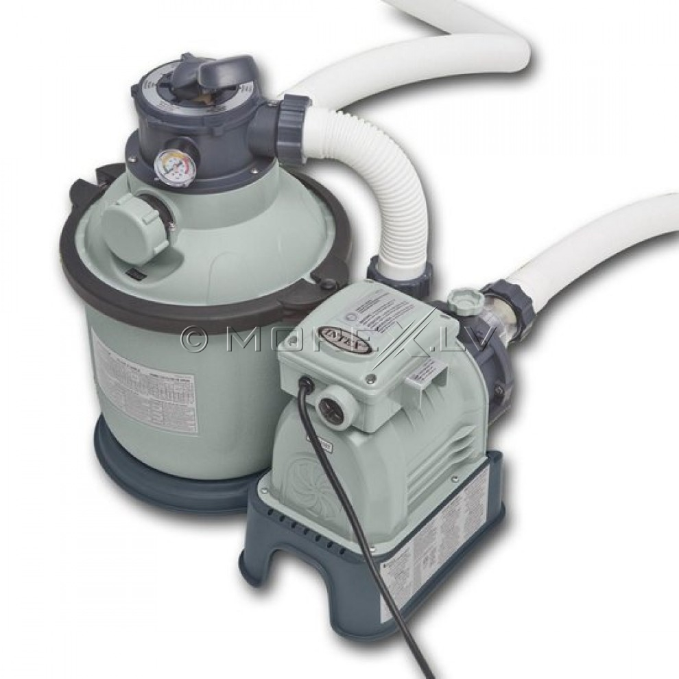 Intex Krystal Clear Sand Filter And Pump 28644 1200gal