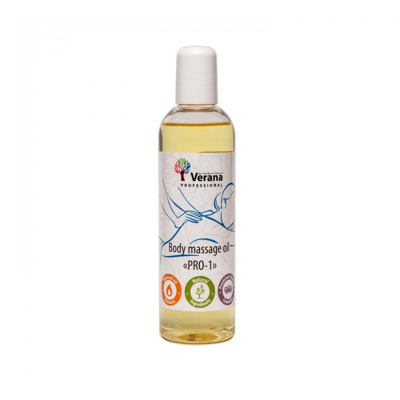 Массажное масло для тела Verana Professional, PRO-1 250мл (без аромата)