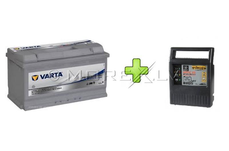 VARTA Professional LFD90 90Ah + Deca 9A