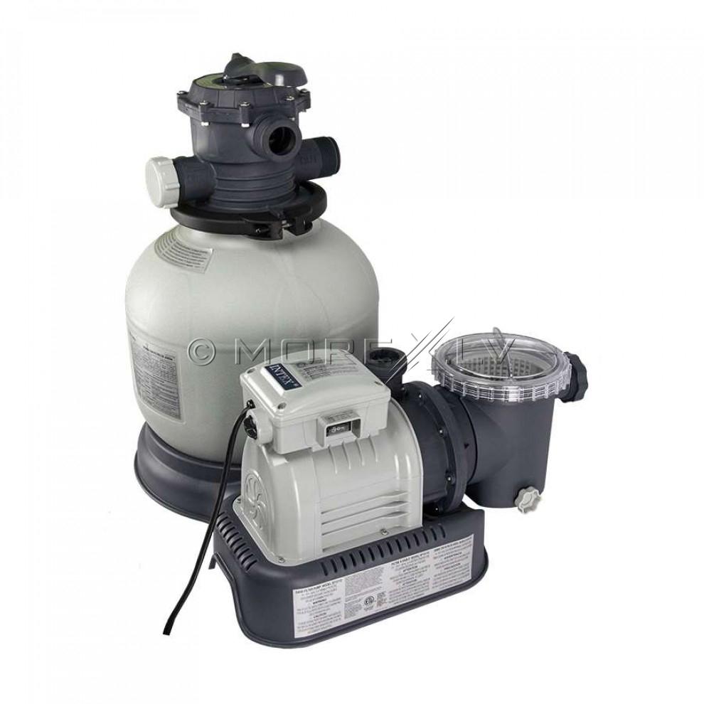 Intex krystal clear sand filter and pump intex 28646 for Bauhaus sandfilterpumpe