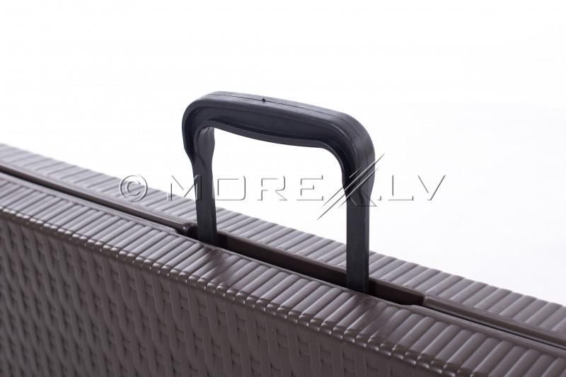 Saliekamais sols ar rotangpalmas dizainu 180x25 cm