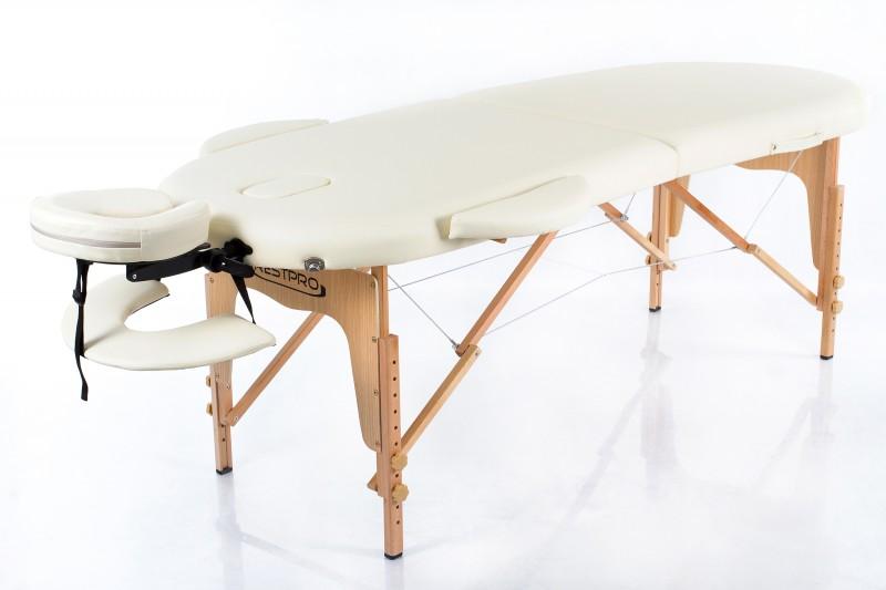 RESTPRO® Classic Oval 2 Cream (кремовый цвет) массажный стол (кушетка)