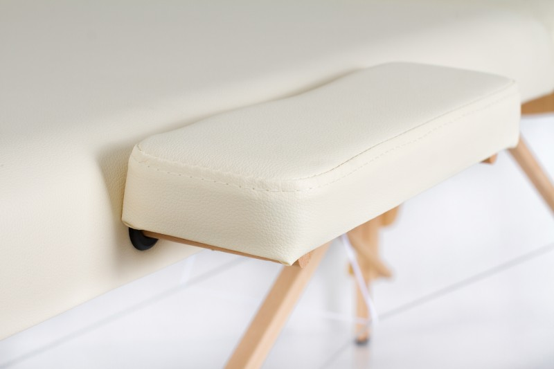 RESTPRO® Classic-2 Cream masāžas galds + masāžas ruļļi