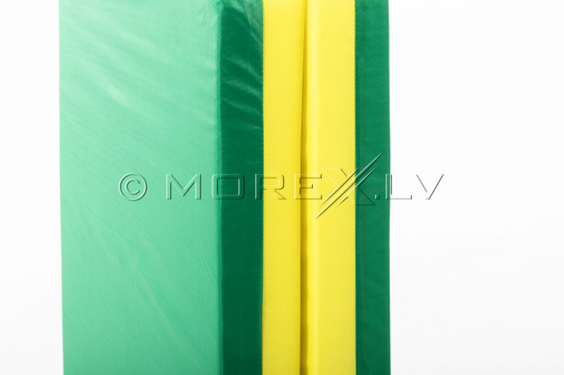 Safety mat 66x120 cm green-yellow