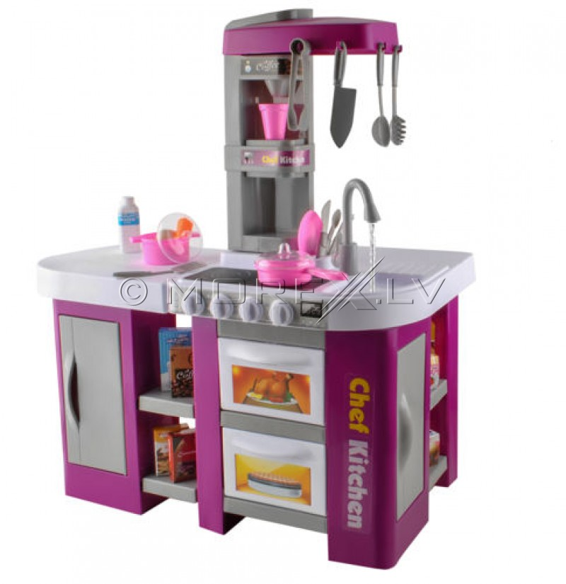 Toy Kitchen Set With Food And Dishes 00007008