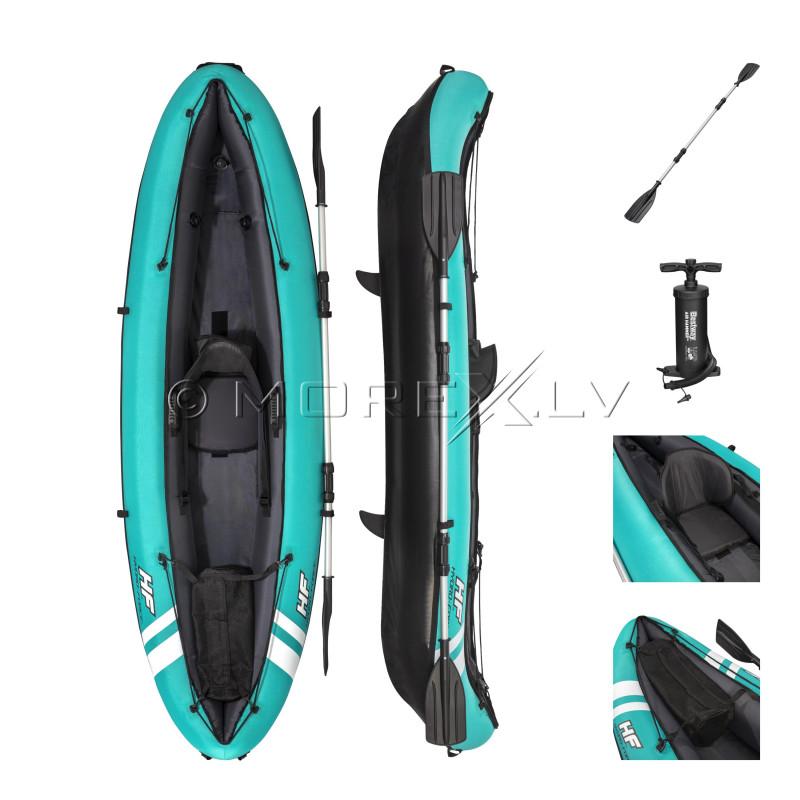 Inflatable signle-seat kayak Bestway Ventura, 280x86 cm, 65118