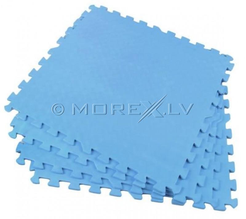 Bērnu paklājs Puzzle 61х61cm 4gb. zils (00002816)