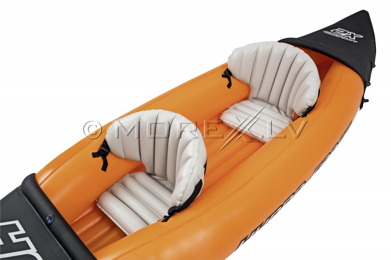 Two-seat inflatable kayak Bestway Lite-Rapid X2 321x88 cm 65077