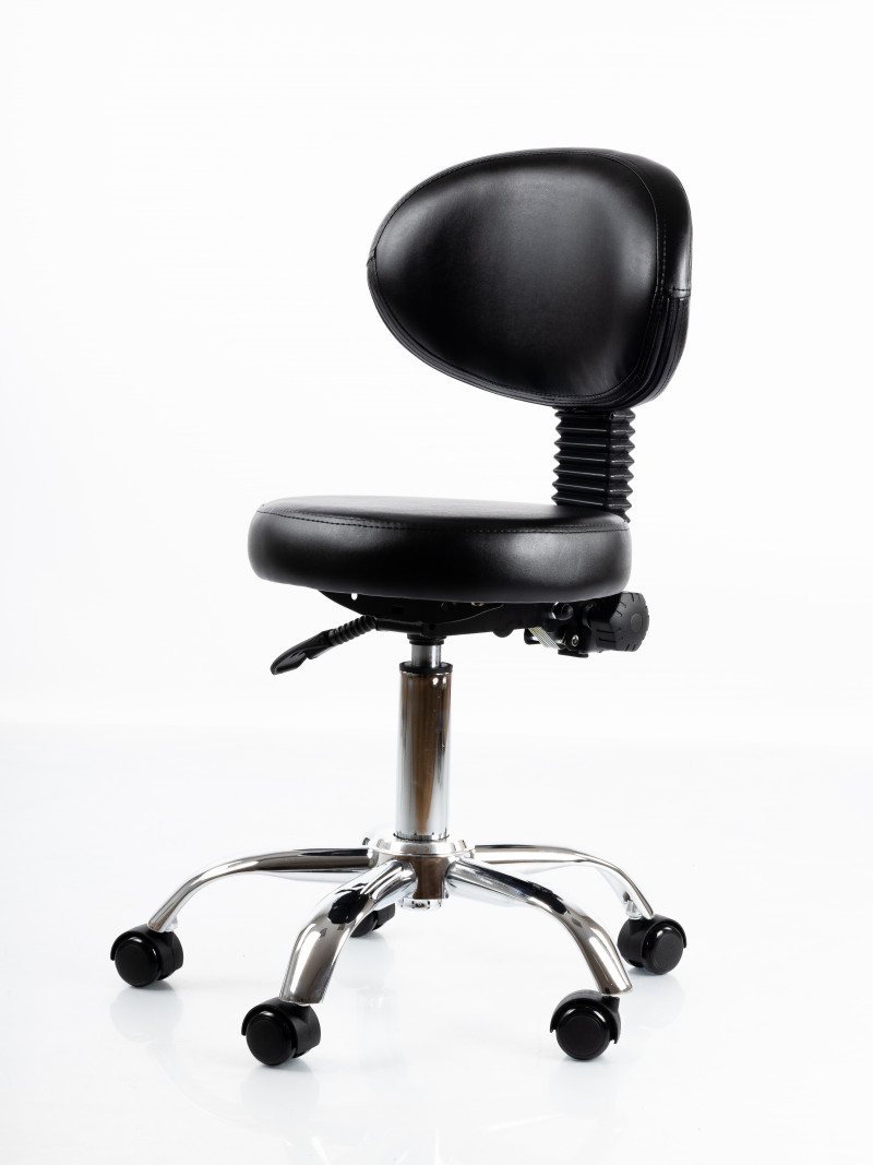 Salon Professional Chair Restpro® Round 5 black