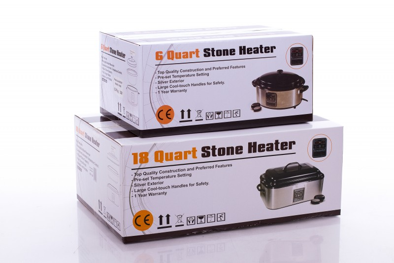 Massage Hot Stone Heater 18 Quart (with display)