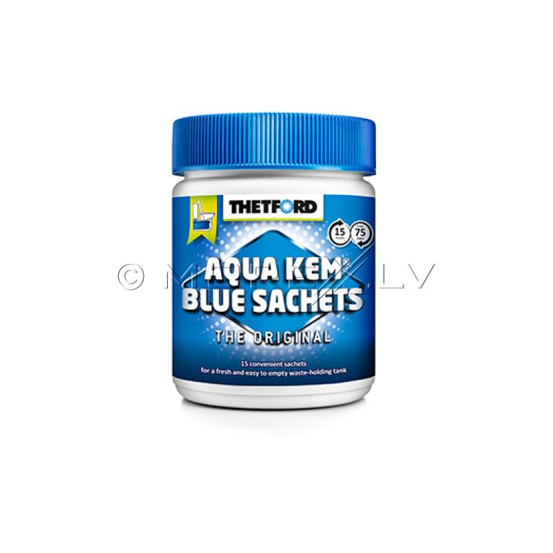 Thetford Aqua Kem® Blue Sachets (Bag) apakšēja rezervuāra 15 tabletes