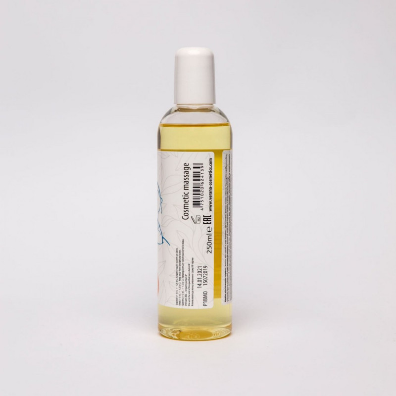 Body massage oil Verana Professional, Ginger 250ml