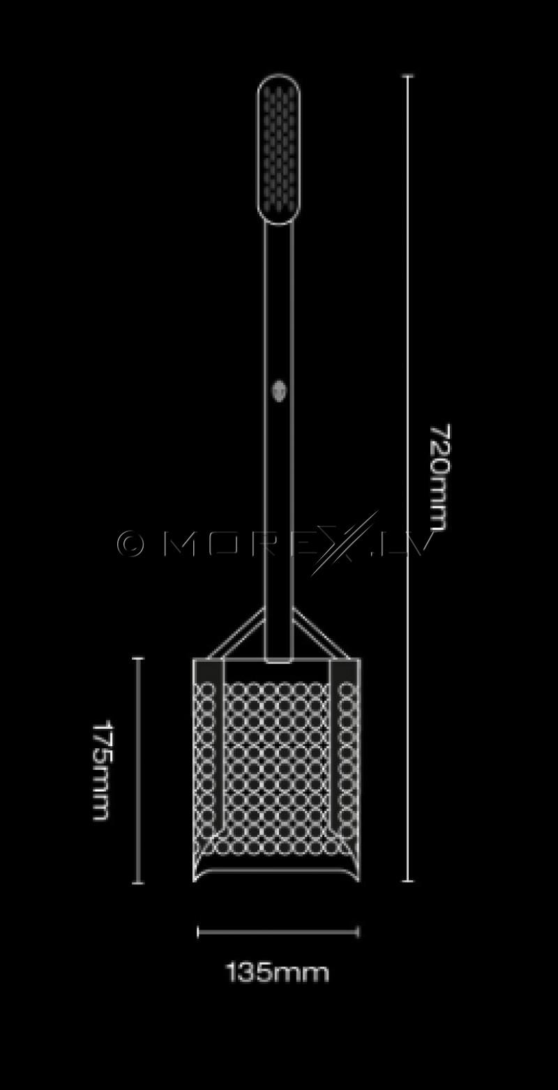 Speciālā lāpsta Black Ada Sandscoop (Stainless Steel) monētu un dārgumu meklēšanai