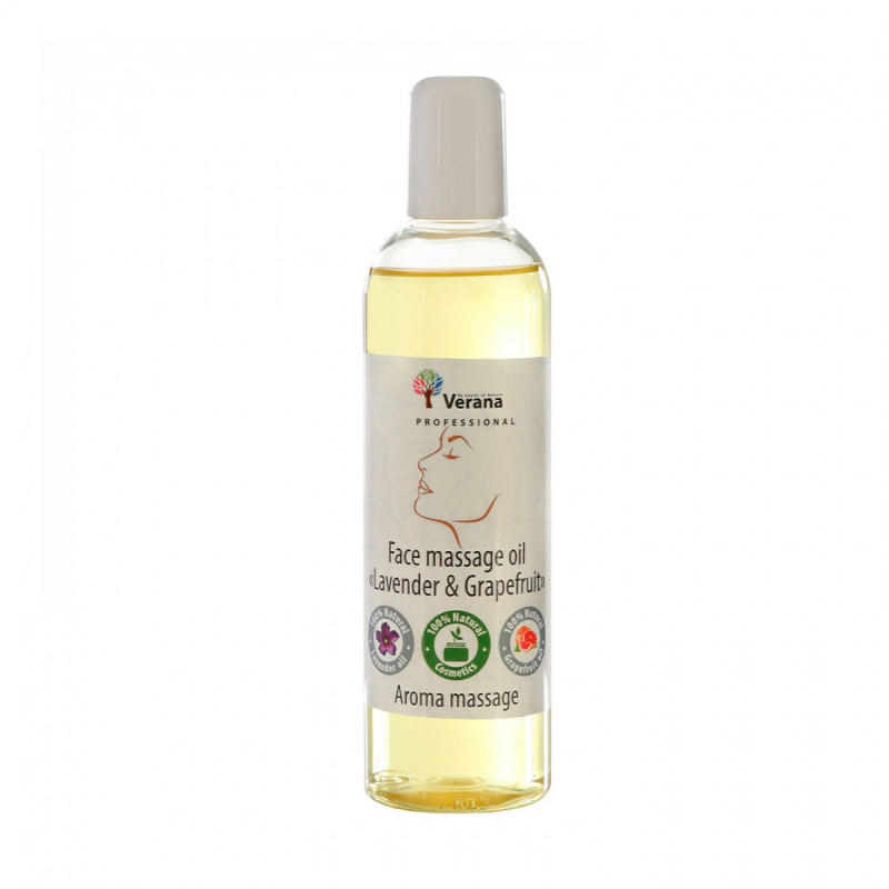 Face massage oil Verana Professional, Lavender with Grapefruit 250ml